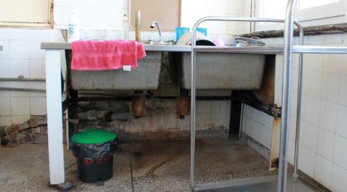 spital, bucătăria unui spital județean