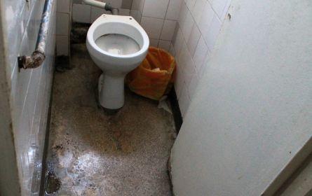 spital, toaleta din secția oncologie