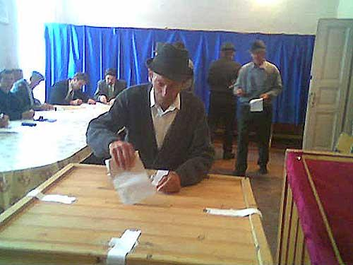 țăran la vot