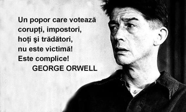 Orwell despre vot