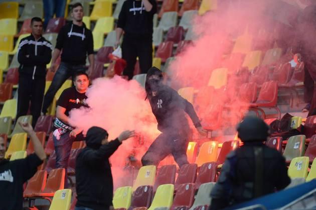 ungurii pe stadion